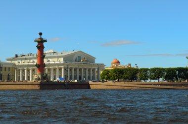 Russia, Saint-Petersburg, Arrow Vasilevsky Island, Rostral Colum