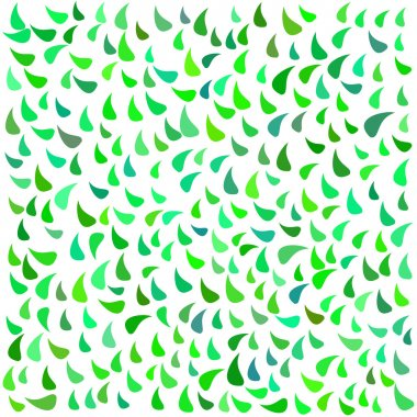 Leaf retro pattern