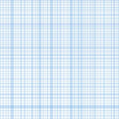 Pastel blue plaid