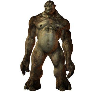 Troll-3D Fantasy Figure