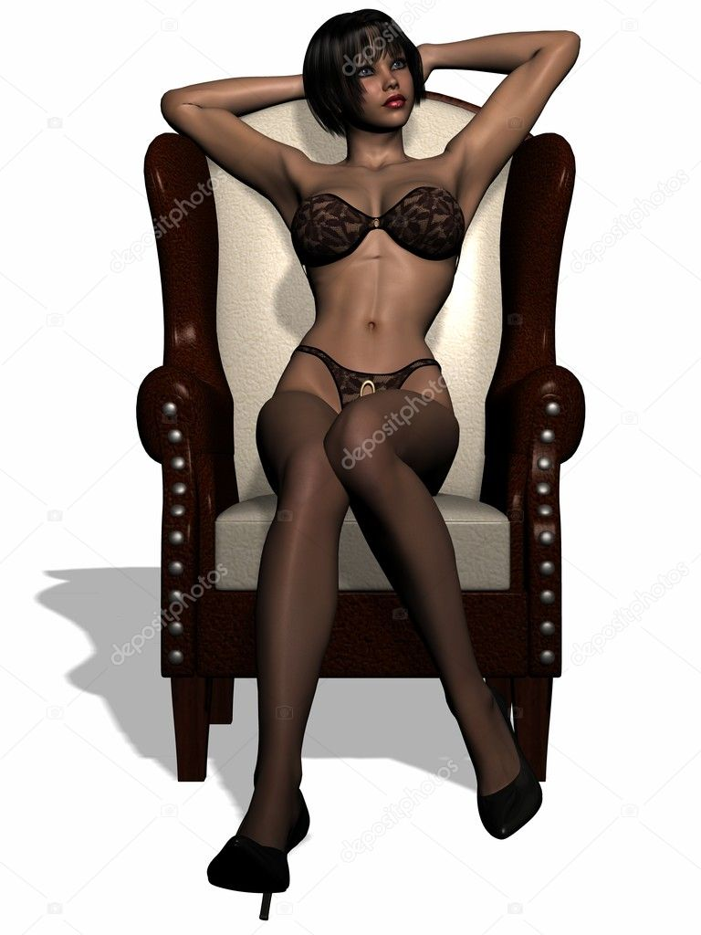 Schöne Frauen In Dessous Stockfoto Digitalstudio 2791242