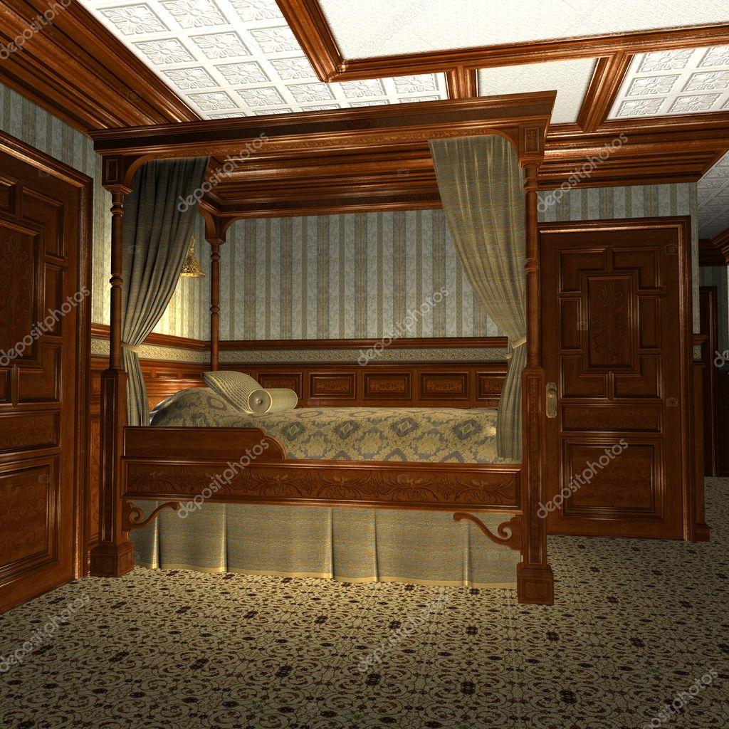 Cabina di lusso su una vecchia nave di lusso foto stock for Planimetrie della cabina di lusso