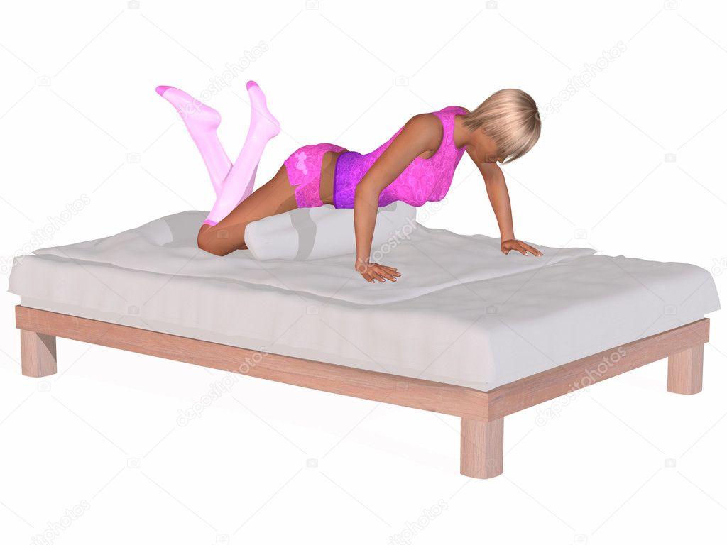 Nanna belle donne sul letto foto stock digitalstudio 3004397 - Foto di donne sul letto ...