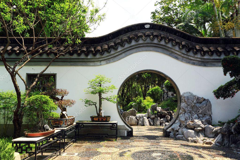 Chinese Traditional Garden Stock Photo 169 Leungchopan