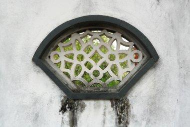 Chinese style window in garden