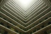 Fotografie hong kong sozialwohnungen wohnblock