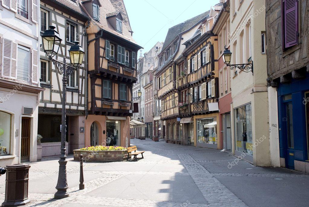 Фотообои France, Colmar, medieval city