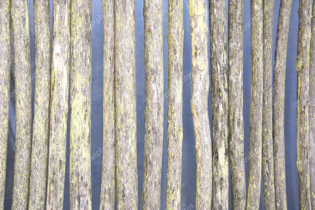 Rotten wattle fence