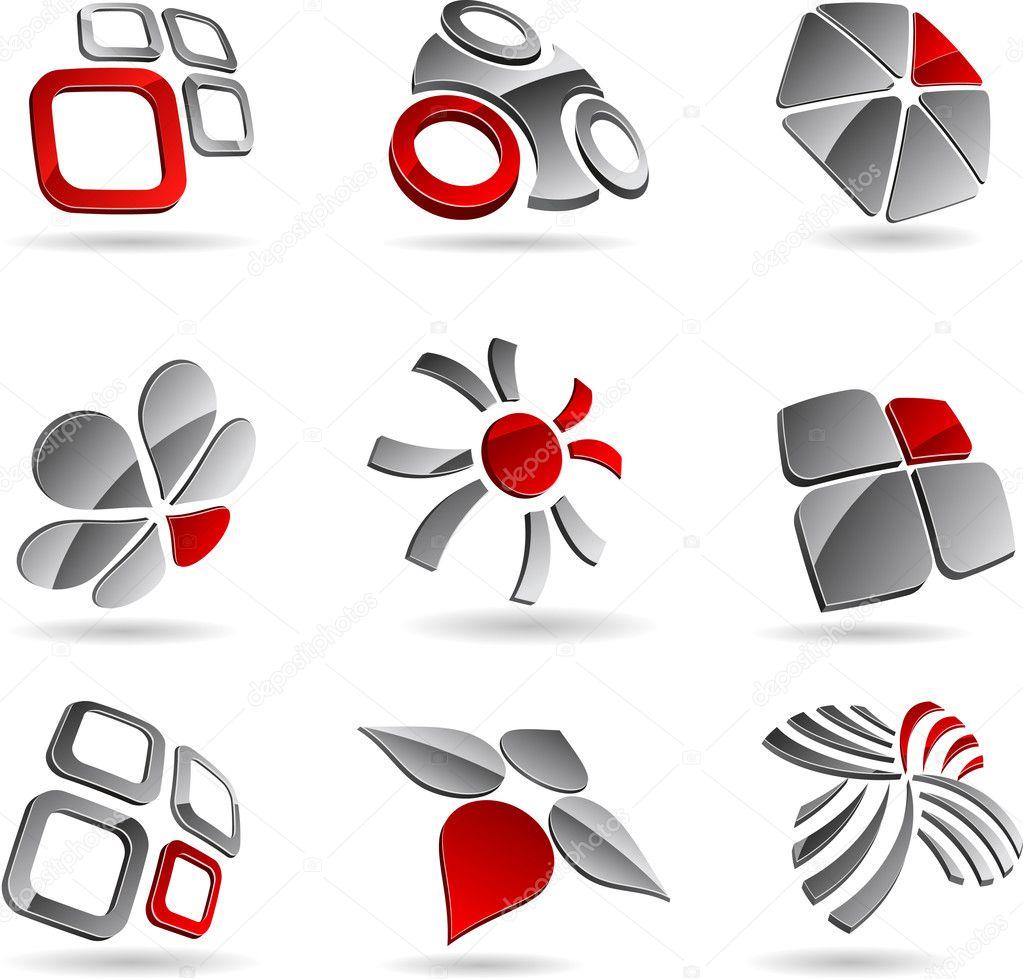 Company symbols.
