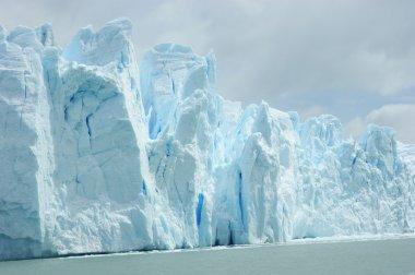 Patagonian ice cap stock vector