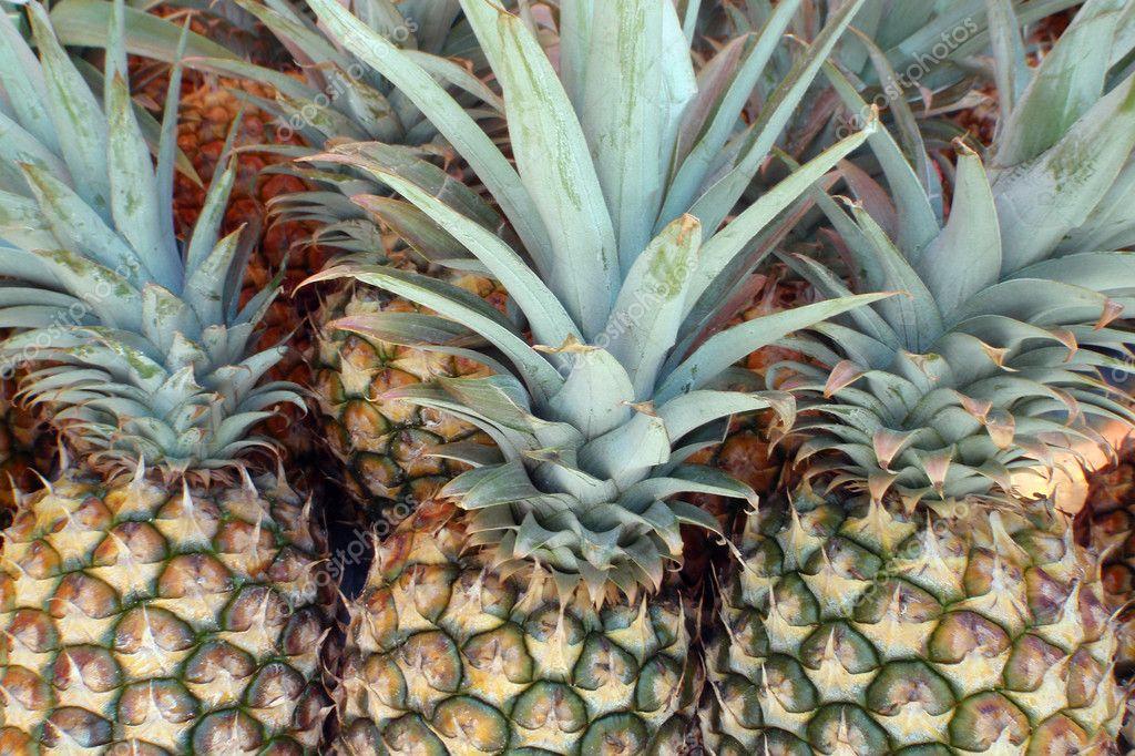 Farmers Market Pineapples