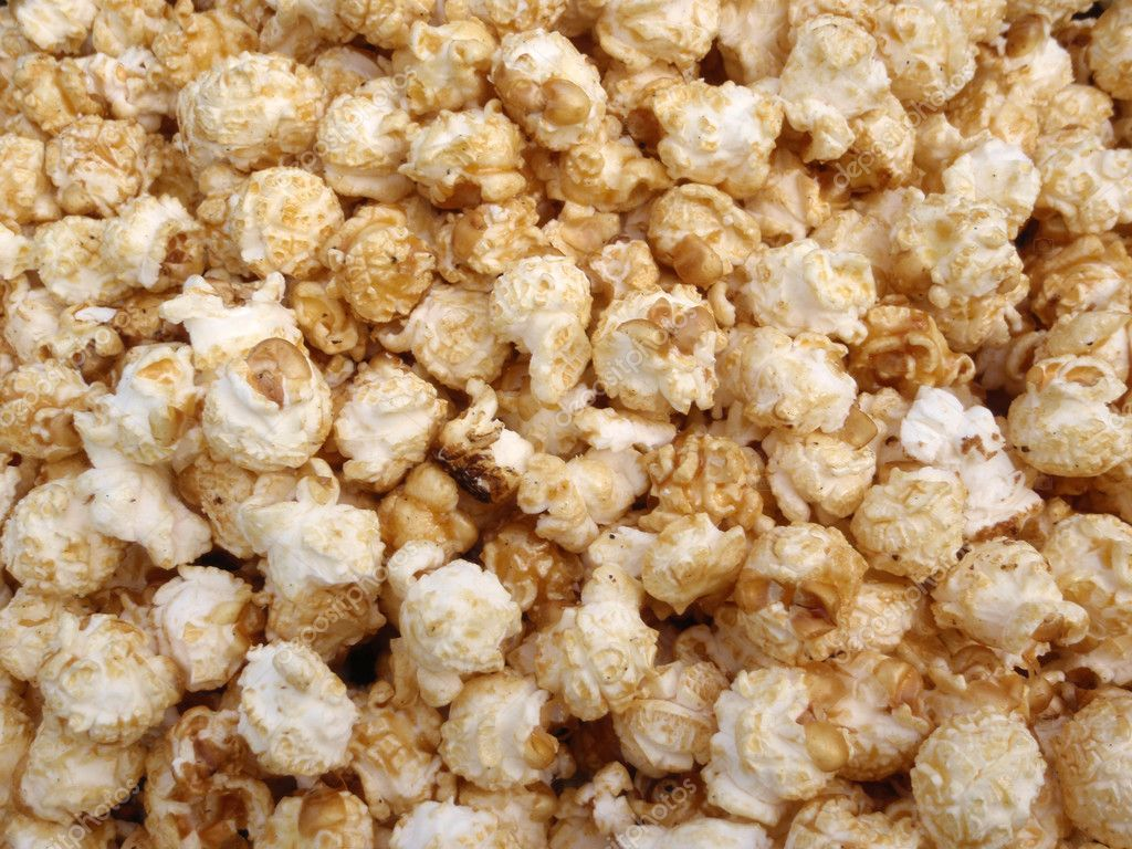 Bunch of Kettle Corn Popcorn