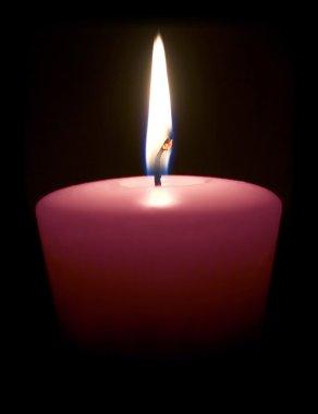 Magenta Candle