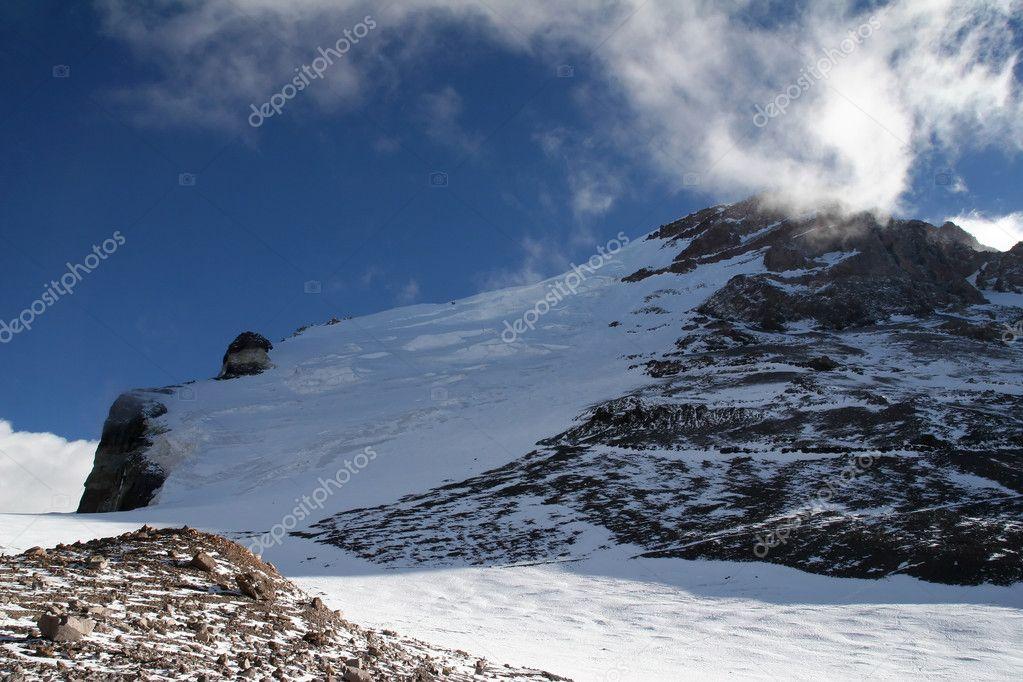 Aconcagua Polish Glacier