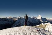 Island peak summit - Nepál