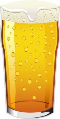 Vector pint of beer