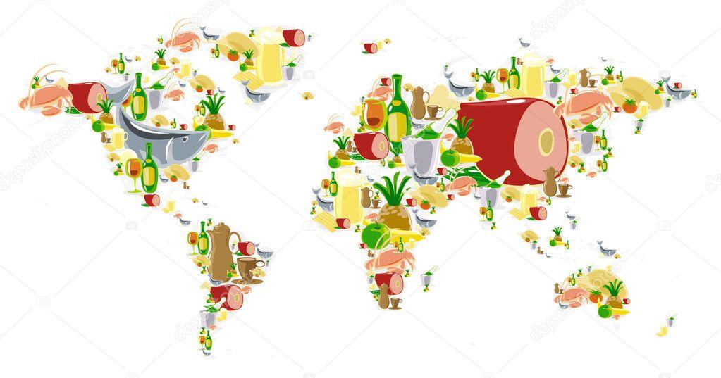 Alimentación en el mundo