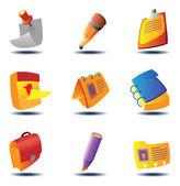 ikony pro dokumenty a poznámky