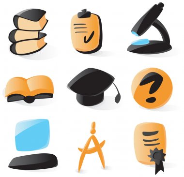 Smooth education icons