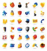 Icons für Wirtschaft und Finanzen