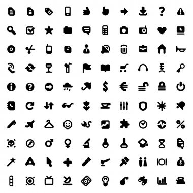 Icons and signs