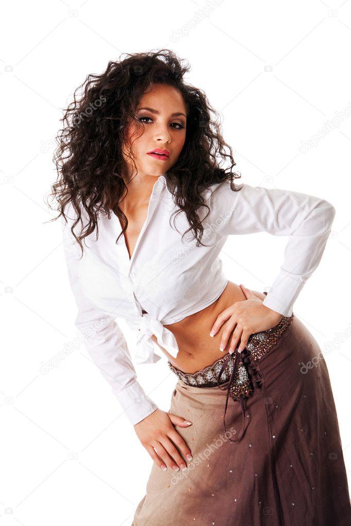 Brunette latina Sexy