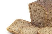 Bochník hnědého chleba