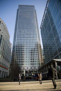Canary Wharf: London stock vector