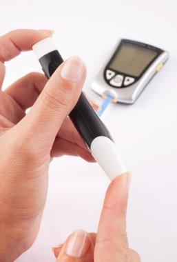 Diabetic woman