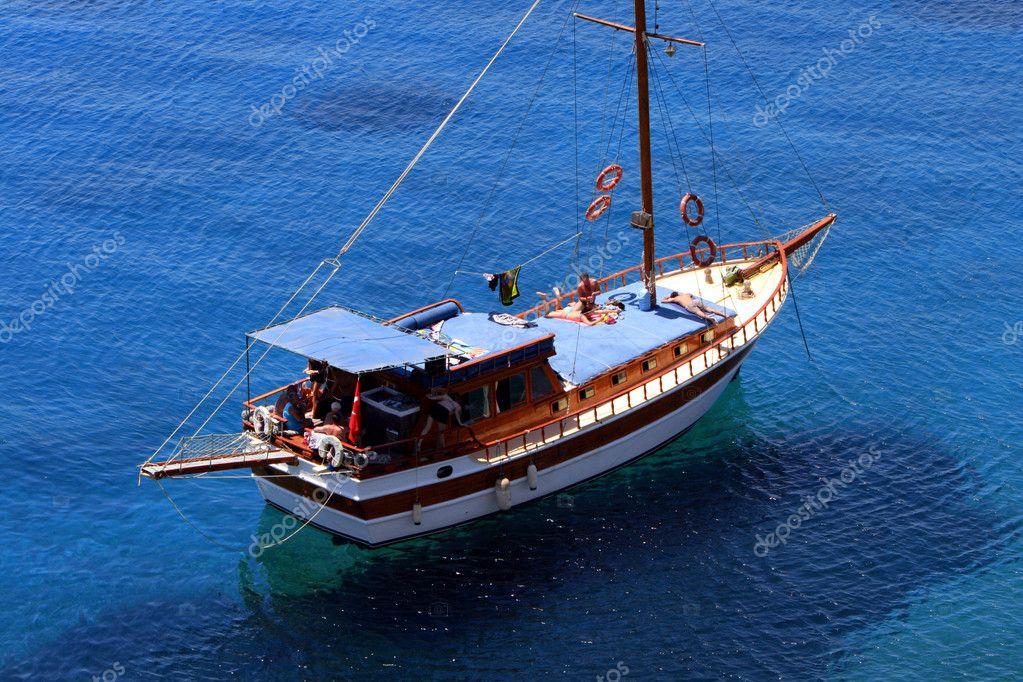 Board Of A Yacht