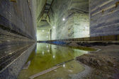 Photo Large Underground Salt Mine Extraction Pit