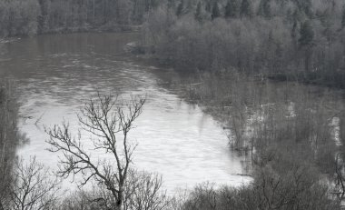 Overflow river
