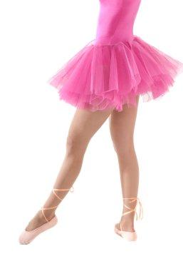 Unrecognizable female dancer body tutu