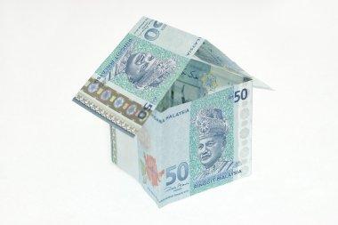 Malaysian Ringgit isn a Shape of a House