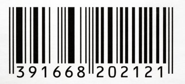 Bar Code With Numbers