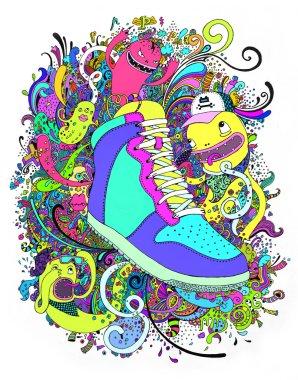 Funny sneaker