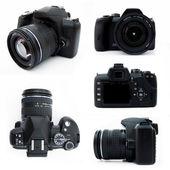 Fényképek digitális slr fényképezőgép az összes nézőpontok