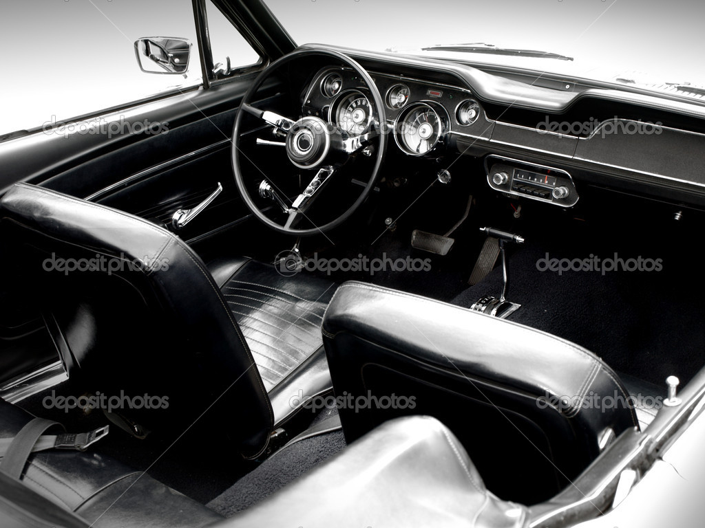 interior of the classic sports car stock photo wingnutdesigns 2797621. Black Bedroom Furniture Sets. Home Design Ideas
