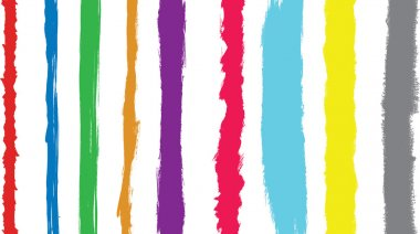 Coloured paint strokes converted to vect