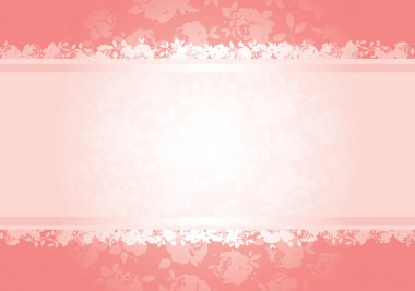 Valentines roses background pattern with