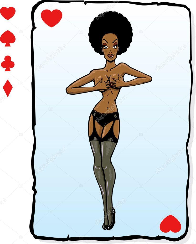 Игральные карты с сексуальными позами