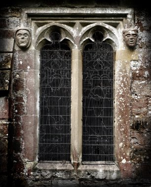 Gothic Stone Faces