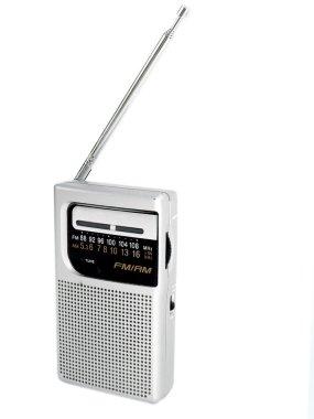 Old fashioned pocket radio