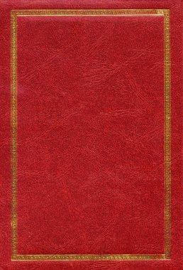 Old red leather texture