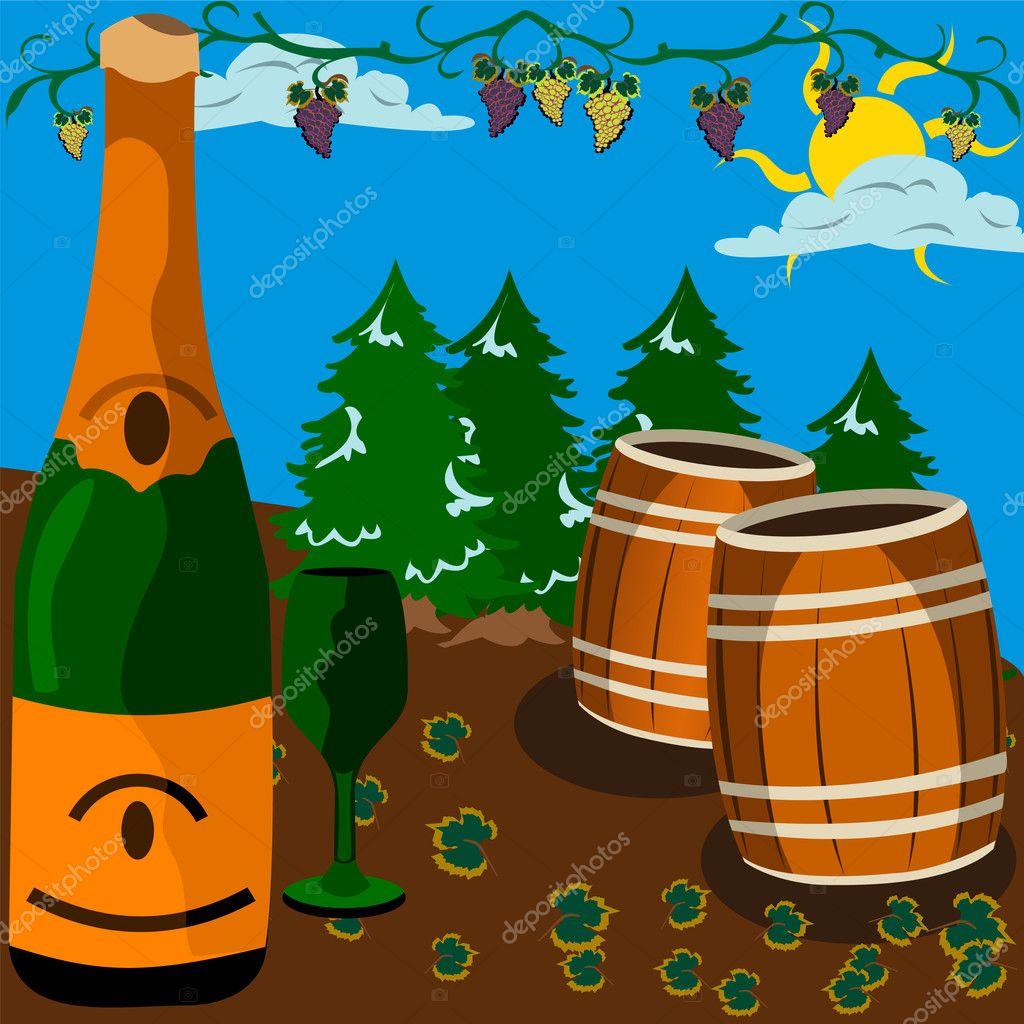 Wine scenery