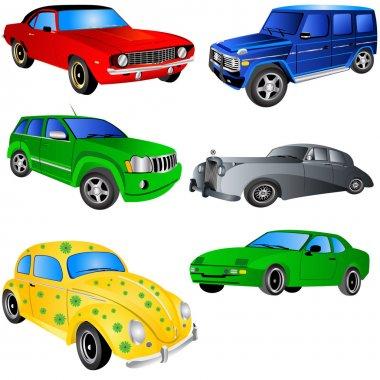 Car icons set 2