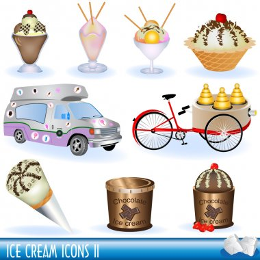 Ice creams icons 2