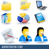 administrativa ikony