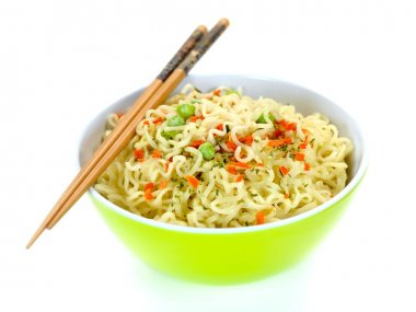 Cooked Instant Noodles