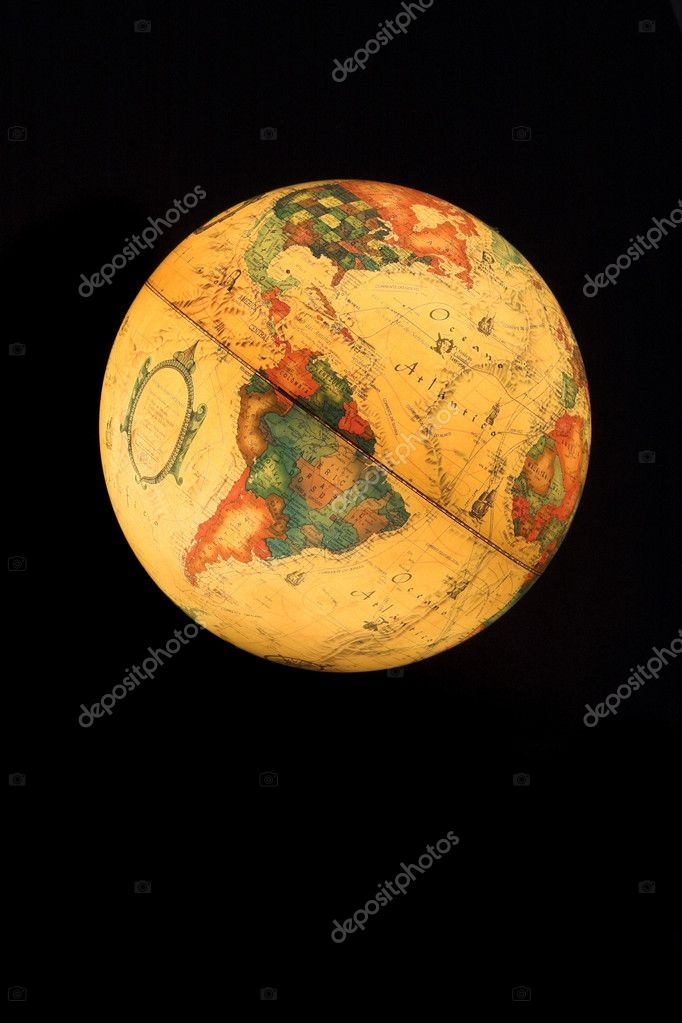 verlicht globe — Stockfoto © ikostudio #4939610